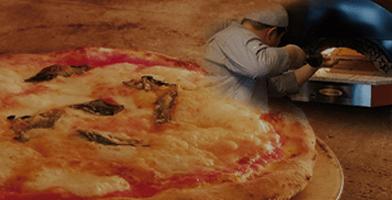 石窯焼手作りナポリピッツァ